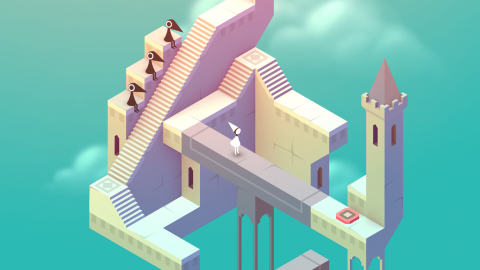 "Screenshot des Spiels ""Monument Valley"""